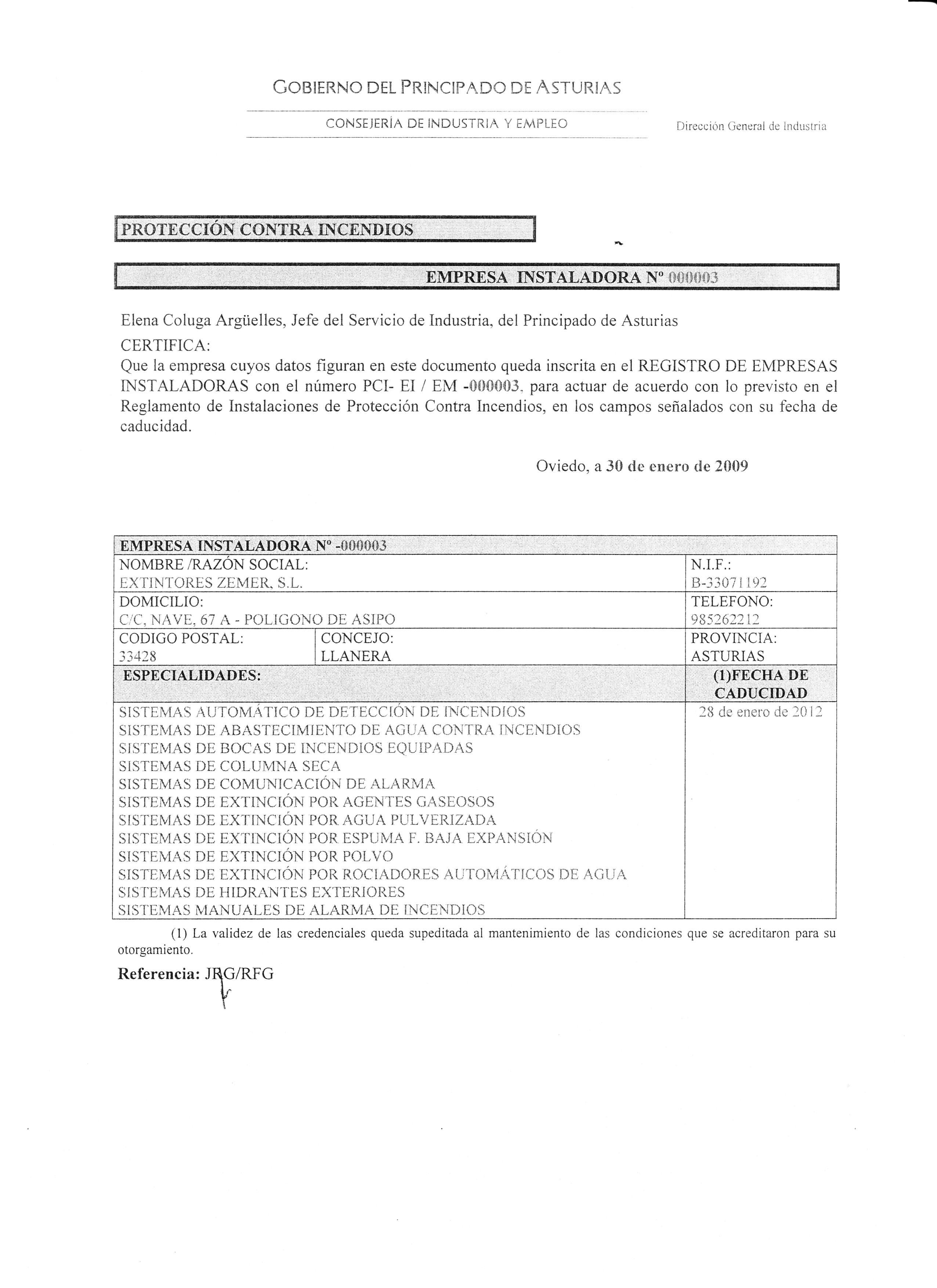AUTORIZACION INSTALACION EQUIPOS PCI